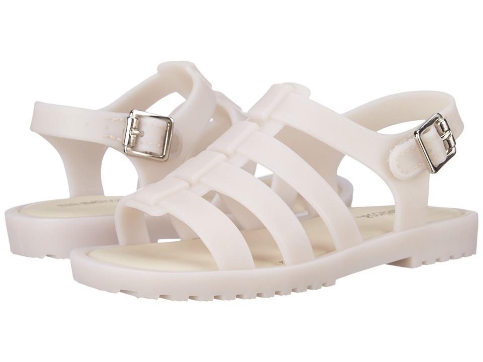 Mini Melissa - Flox (Toddler) (Off White) Girls Shoes