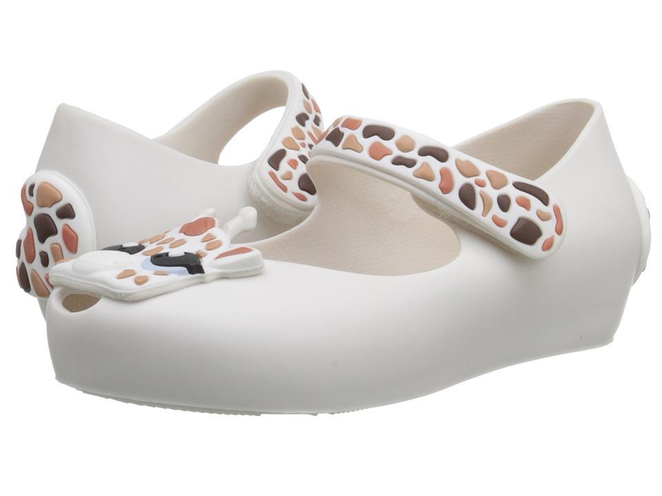 Mini Melissa - Ultragirl IV (Toddler) (White) Girl's Shoes