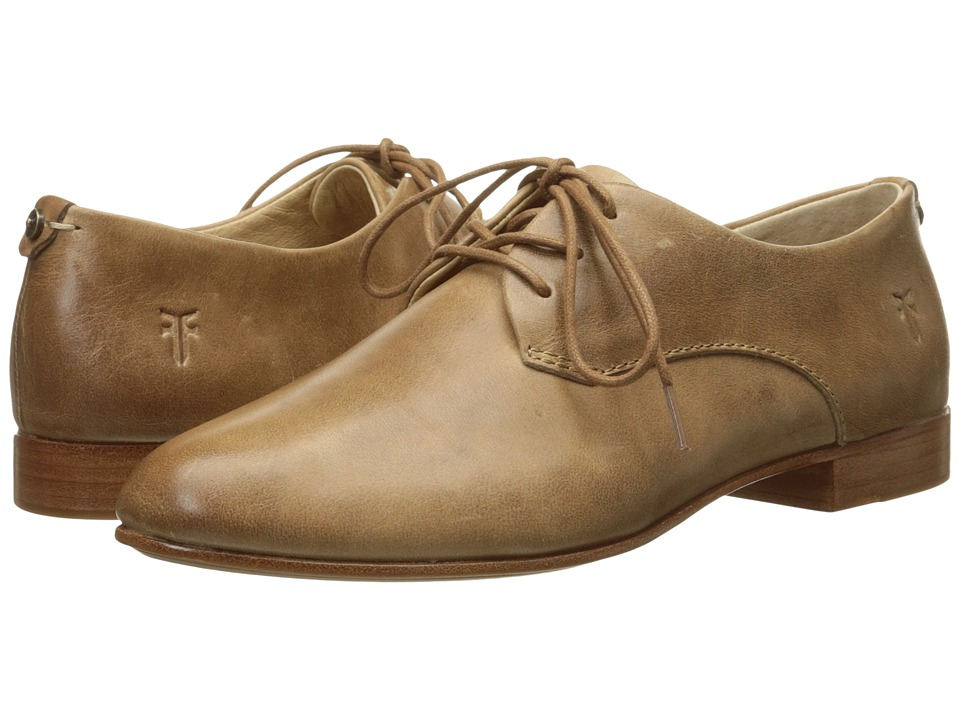 Frye - Tracy Oxford (Beige Antique Pull Up) Women's Lace up casual Shoes