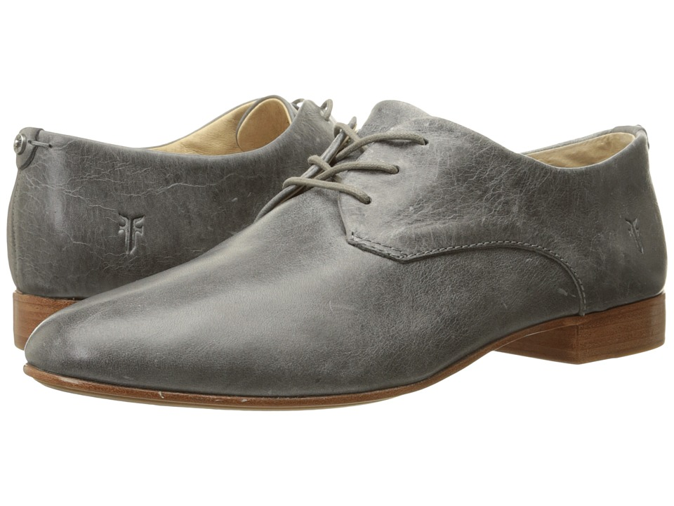 Frye - Tracy Oxford (Pewter Antique Pull Up) Women's Lace up casual Shoes