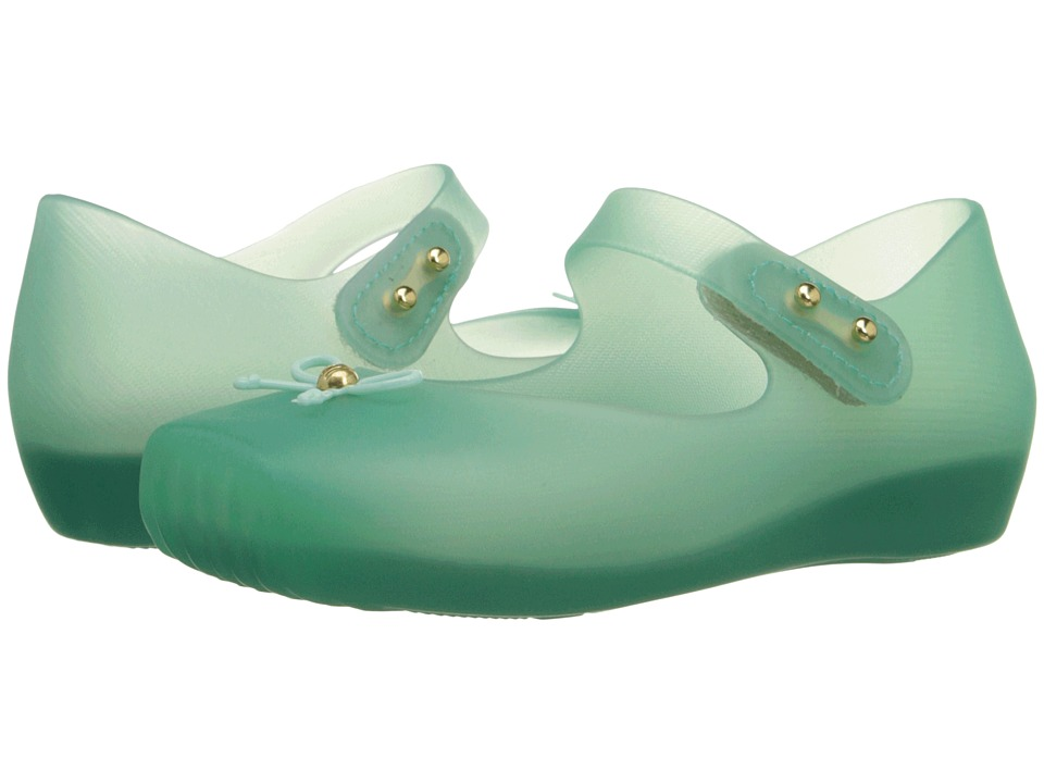 Mini Melissa - Mini Ballet (Toddler) (Clear Green) Girls Shoes