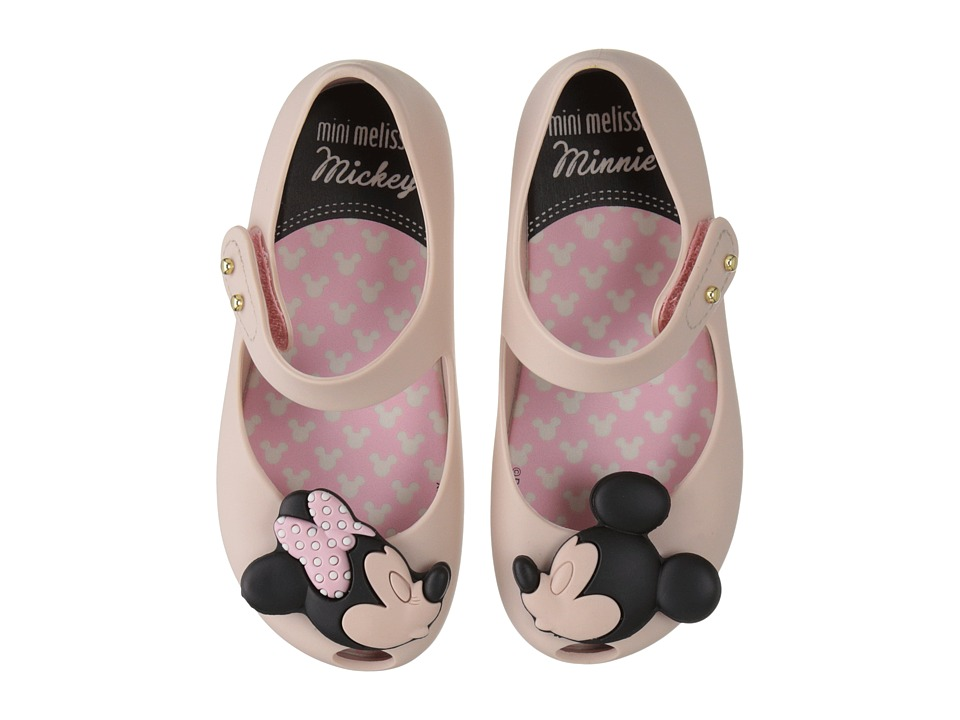 Mini Melissa - Ultragirl + Disney Twins (Toddler) (Light Pink) Girl's Shoes