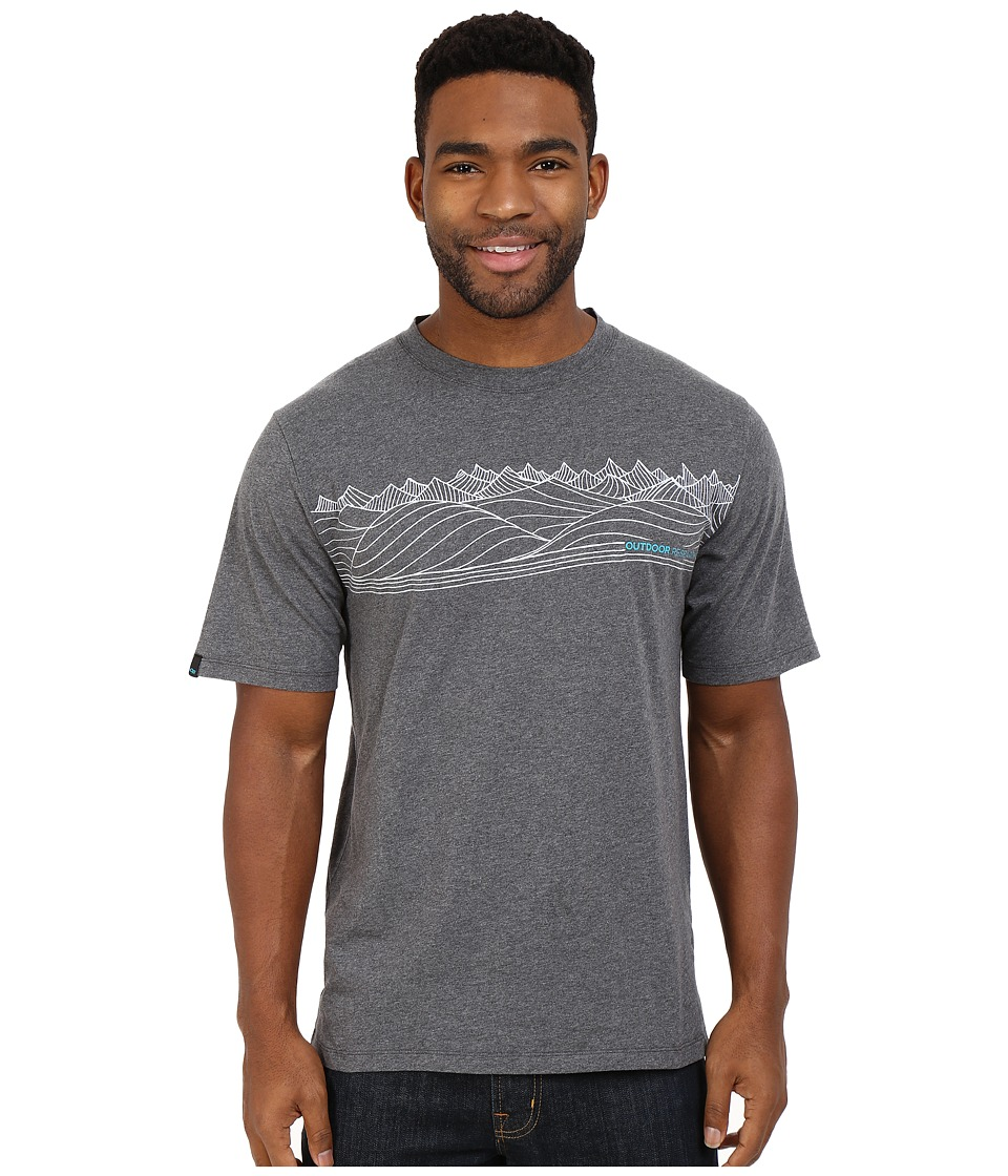 Outdoor Research - Prospect Tee (Charcoal Heather) Men's T Shirt