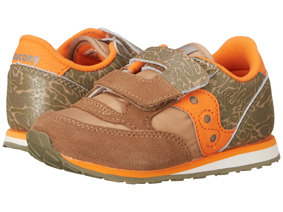 Saucony Kids - Baby Jazz HL (Toddler/Little Kid) (Camo) Boys Shoes