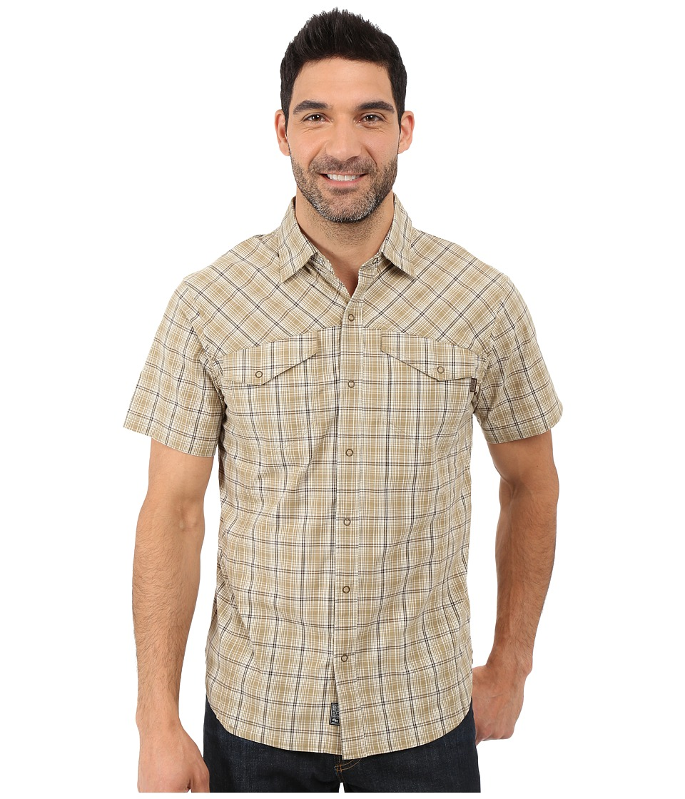 Outdoor Research - Pagosa Short Sleeve Shirt (Caf ) Men's Clothing
