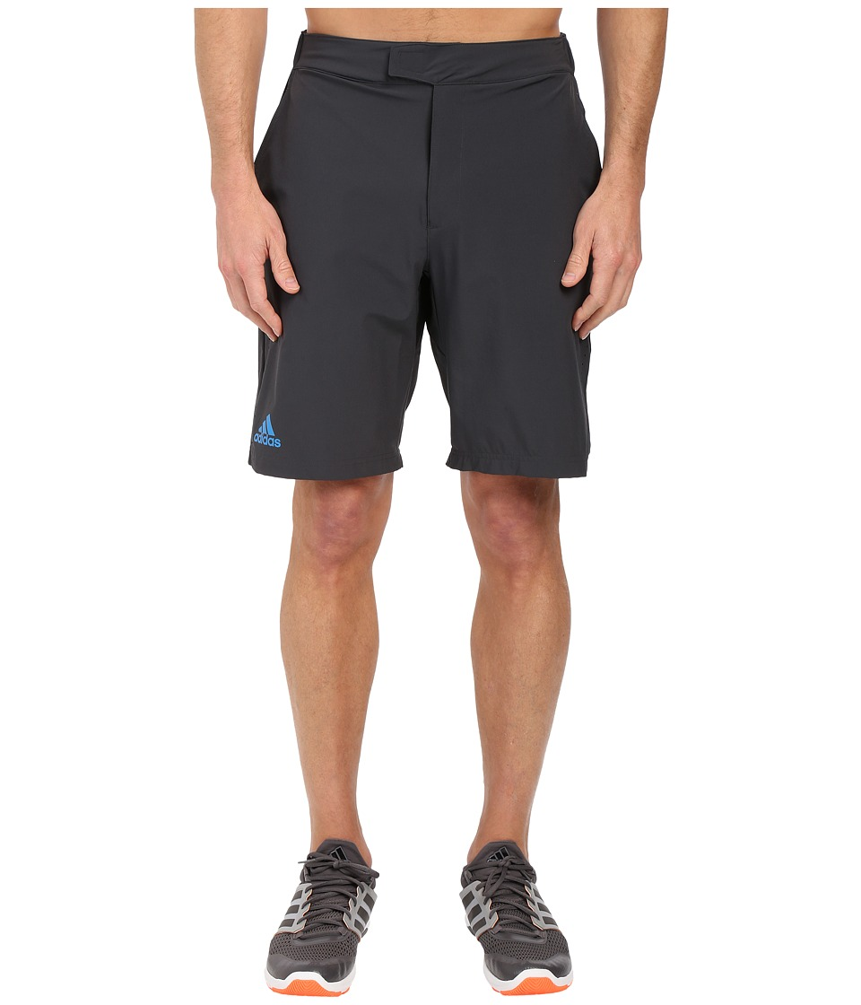 adidas - Barricade Bermuda Shorts (Dark Grey/Shock Blue) Men's Shorts