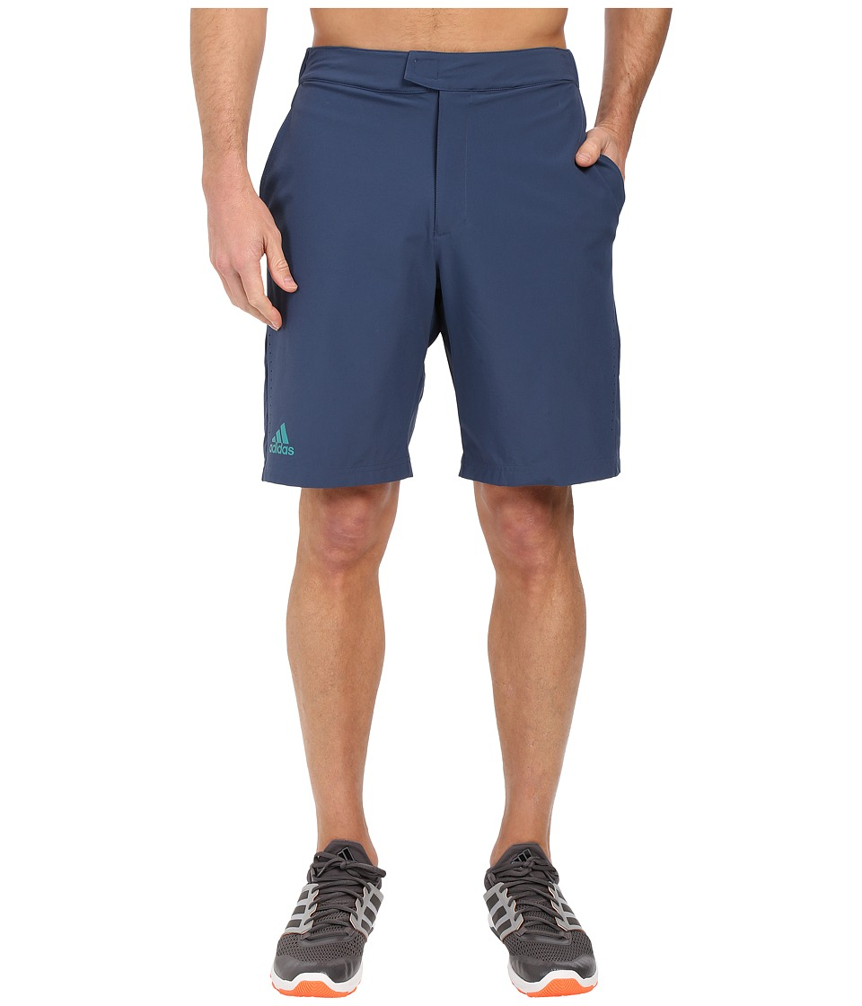 adidas - Barricade Bermuda Shorts (Mineral Blue/EQT Green) Men's Shorts