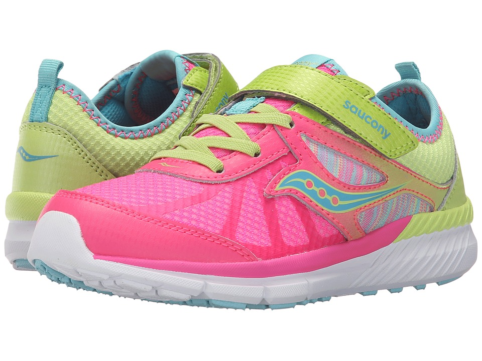 Saucony Kids - Volt A/C (Little Kid) (Mutli) Girls Shoes