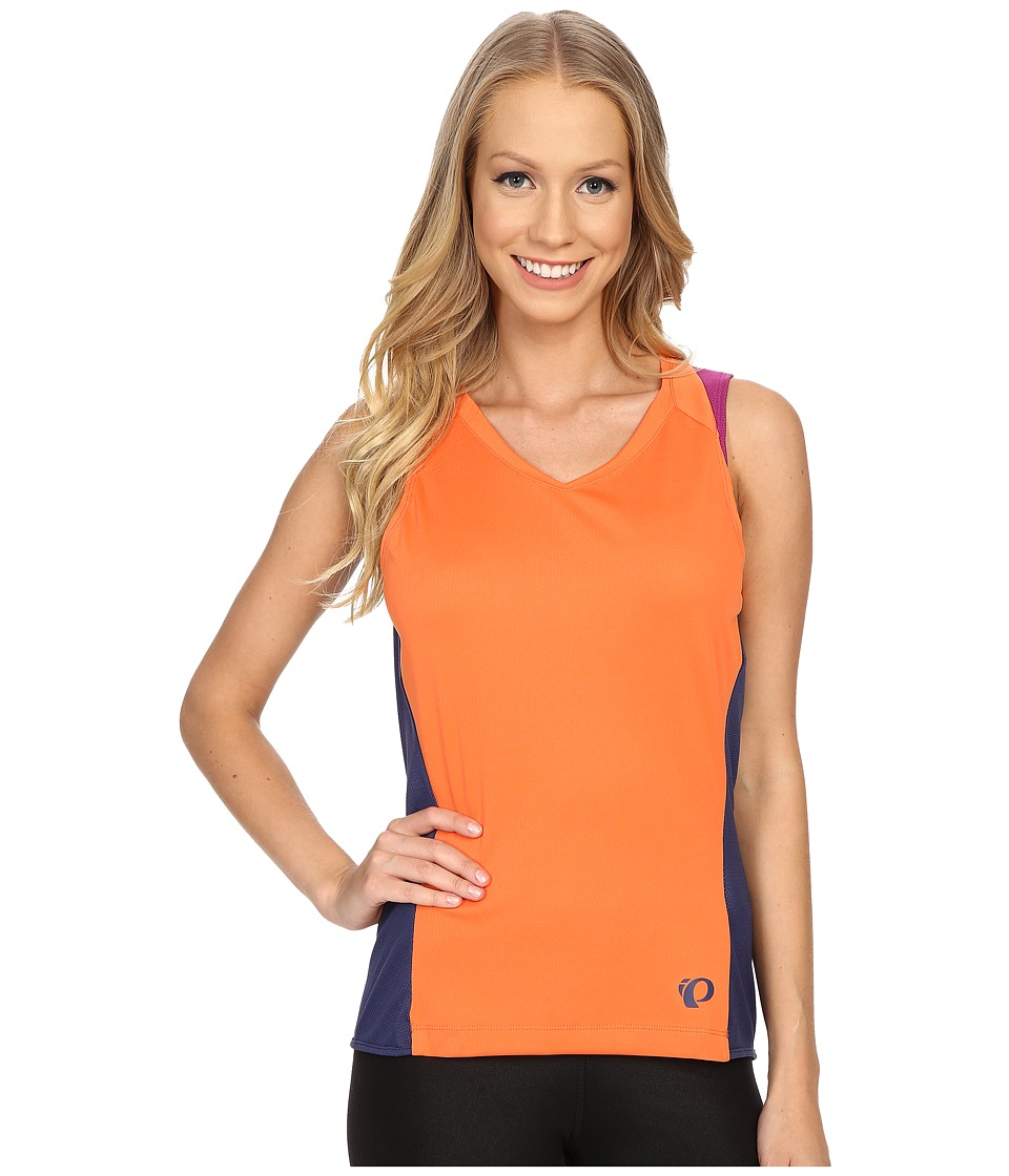 Pearl Izumi - Launch Sleeveless Jersey (Clementine) Women's Sleeveless