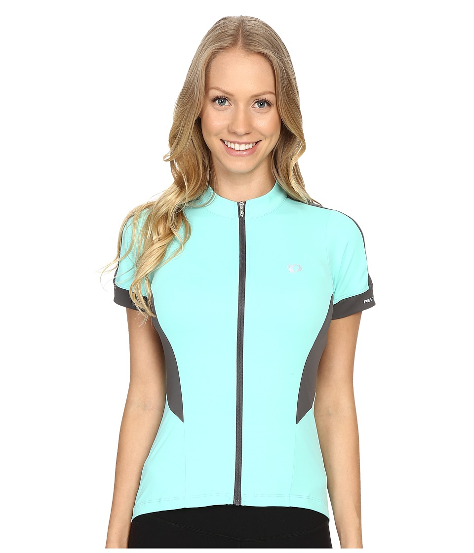 Pearl Izumi - Elite Pursuit Short Sleeve Jersey (Aqua Mint) Women's Clothing