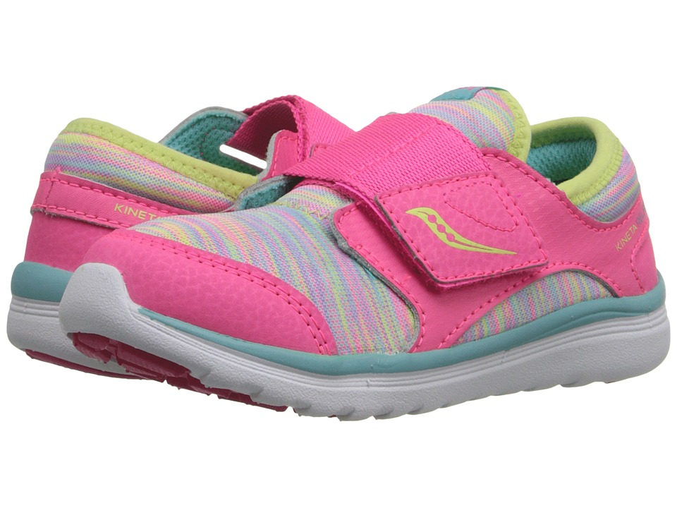 Saucony Kids Kineta A/C (Toddler) (Multi) Girls Shoes
