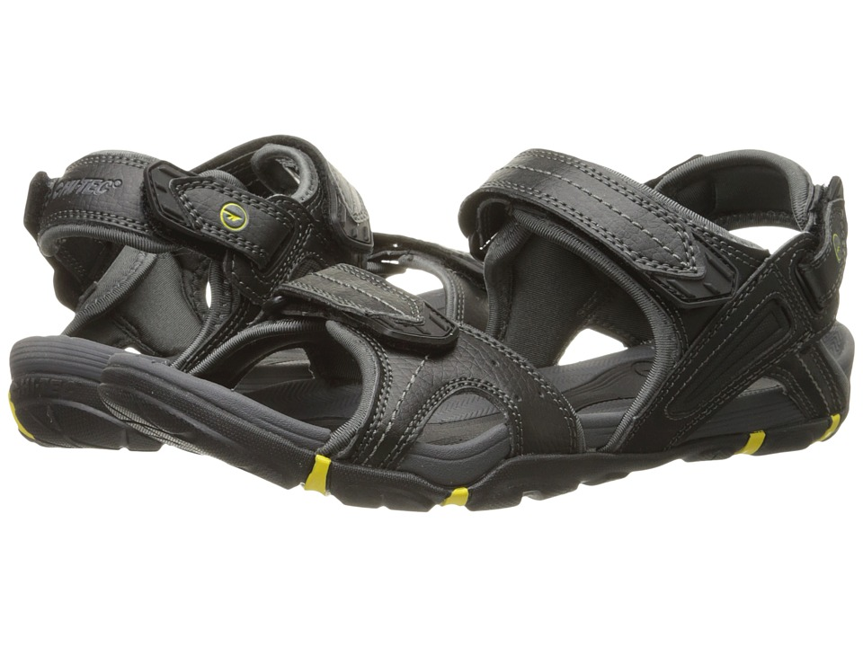 Hi-Tec Altitude Lite Strap (Black/Charcoal/Sunray) Men