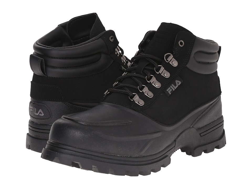 Fila - Weathertec (Black/Black/Black) Men