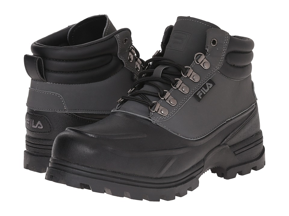 Fila - Weathertec (Black/Castlerock/Black) Men