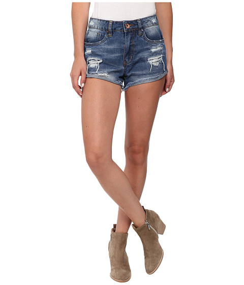 dollhouse - Rigid High Waist Shorts in Parker (Parker) Women's Shorts
