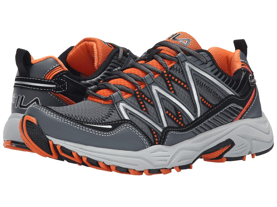 Fila - Headway 6 (Castlerock/Vibrant Orange/Black) Men's Shoes