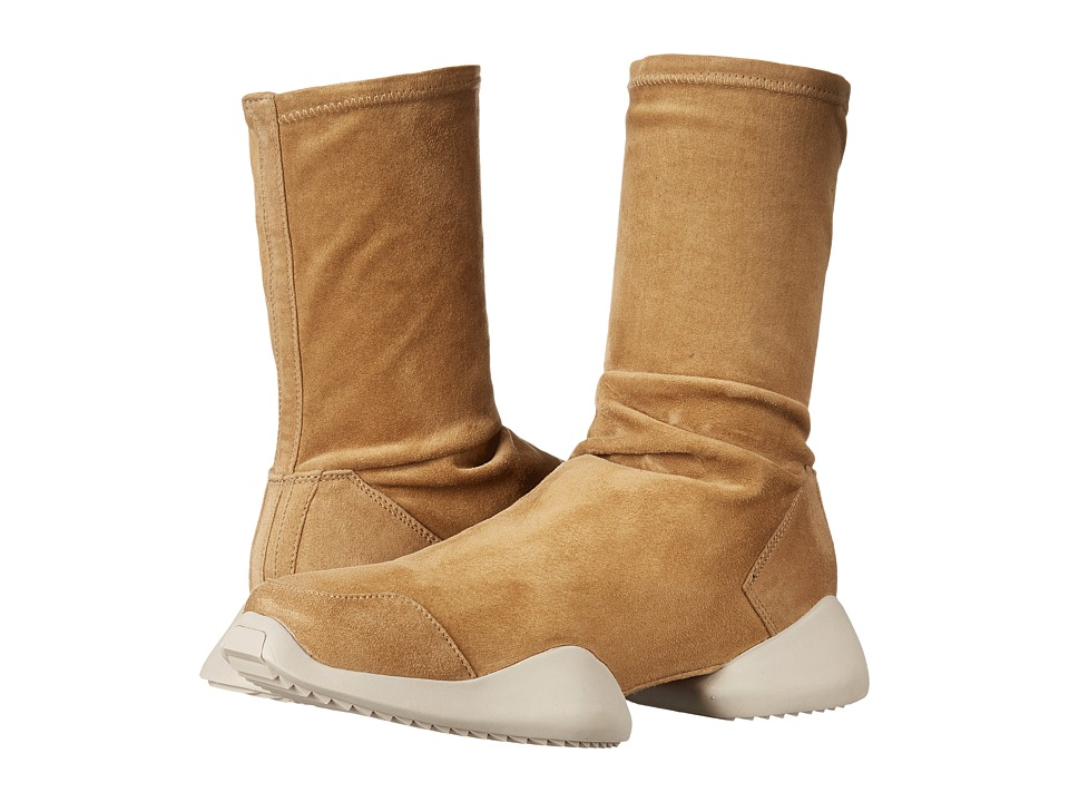adidas by Rick Owens - Runner Ankle Boot (RO Mustard/RO Mustard/RO Nil) Pull-on Boots