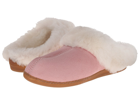 Minnetonka - Sheepskin Mule (Pink) Women's Shoes