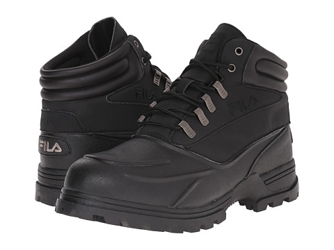 Fila - Shifter (Black/Black/Dark Silver) Men's Hiking Boots
