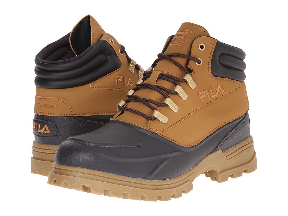 Fila - Shifter (Wheat/Espresso/Gold) Men's Hiking Boots
