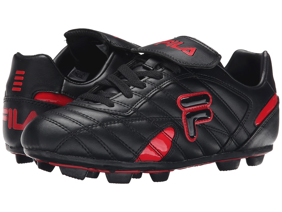 Fila - Forza III RB (Black/Fila Red) Men's Shoes