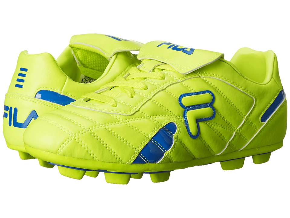 Fila - Forza III RB (Safety Yellow/Prince Blue) Men's Shoes