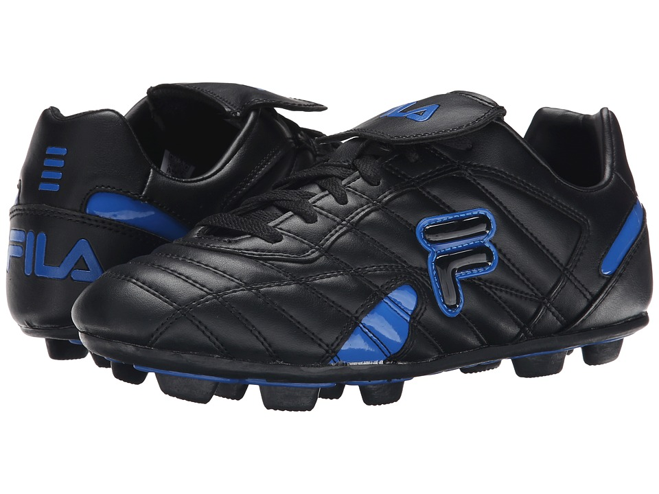 Fila - Forza III RB (Black/Prince Blue) Men's Shoes