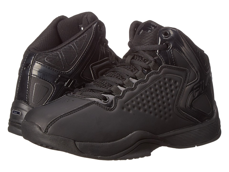 Fila - Big Bang 4 (Black/Black/Black) Men's Basketball Shoes
