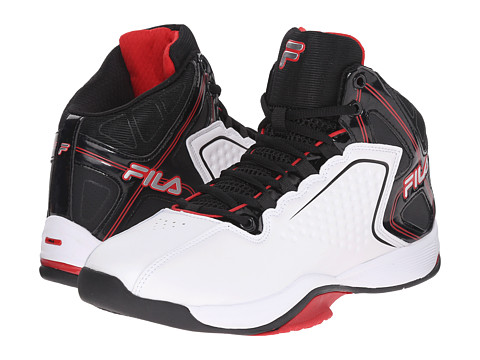 Fila - Big Bang 4 (White/Black/Fila Red) Men