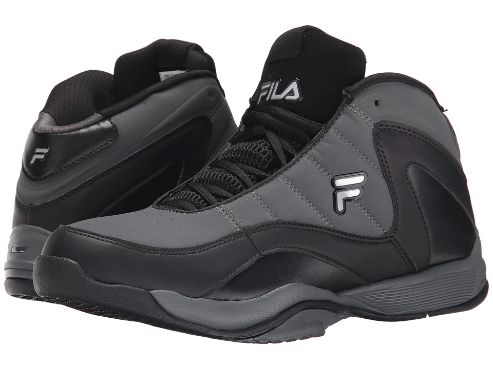 Fila - Sweeper (Castlerock/Black/Metallic Silver) Men's Shoes