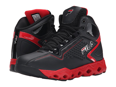 Fila - Big Bang 3 Ventilated (Black/Fila Red) Men's Shoes