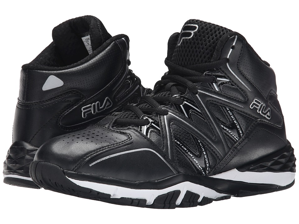 Fila Posterizer (Black/Black/Metallic Silver) Men