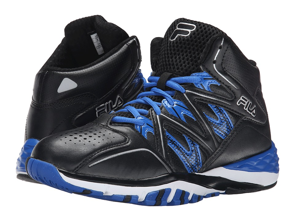 Fila Posterizer (Black/Black/Prince Blue) Men