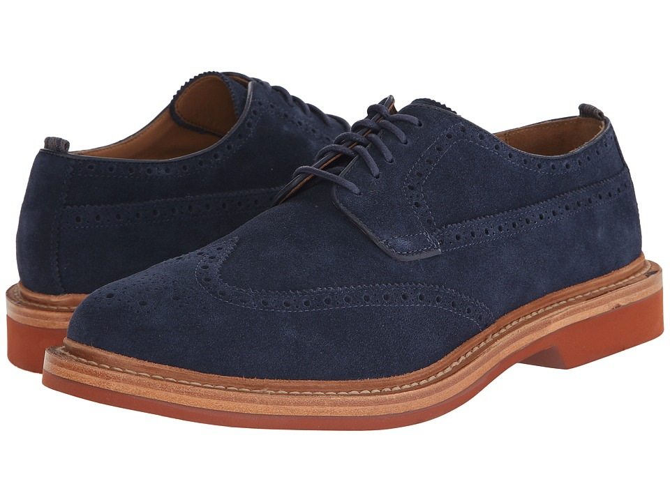 Cole Haan - Hammond Wing Oxford (Blazer Blue) Men's Lace up casual Shoes