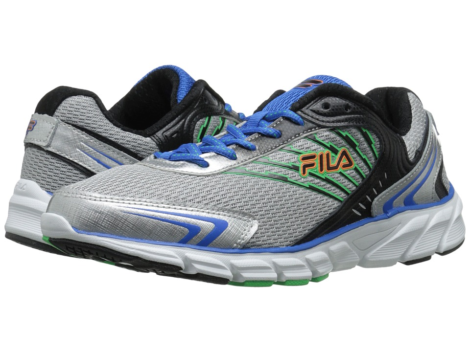 Fila - Maranello (Metallic Silver/Prince Blue/Andean Toucan) Men