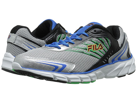 Fila - Maranello (Metallic Silver/Prince Blue/Andean Toucan) Men's Shoes