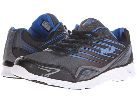 Fila - T-Minus (Castlerock/Black/Electric Blue) Men