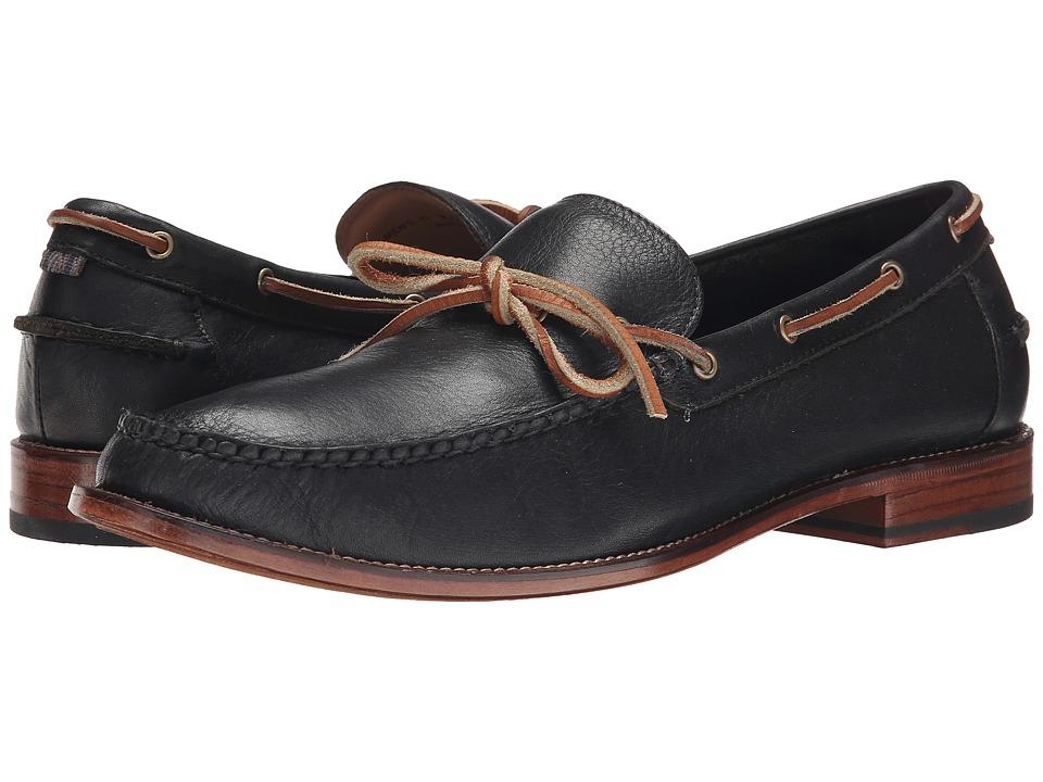 Cole Haan - Willet Camp Moc (Black) Men's Shoes