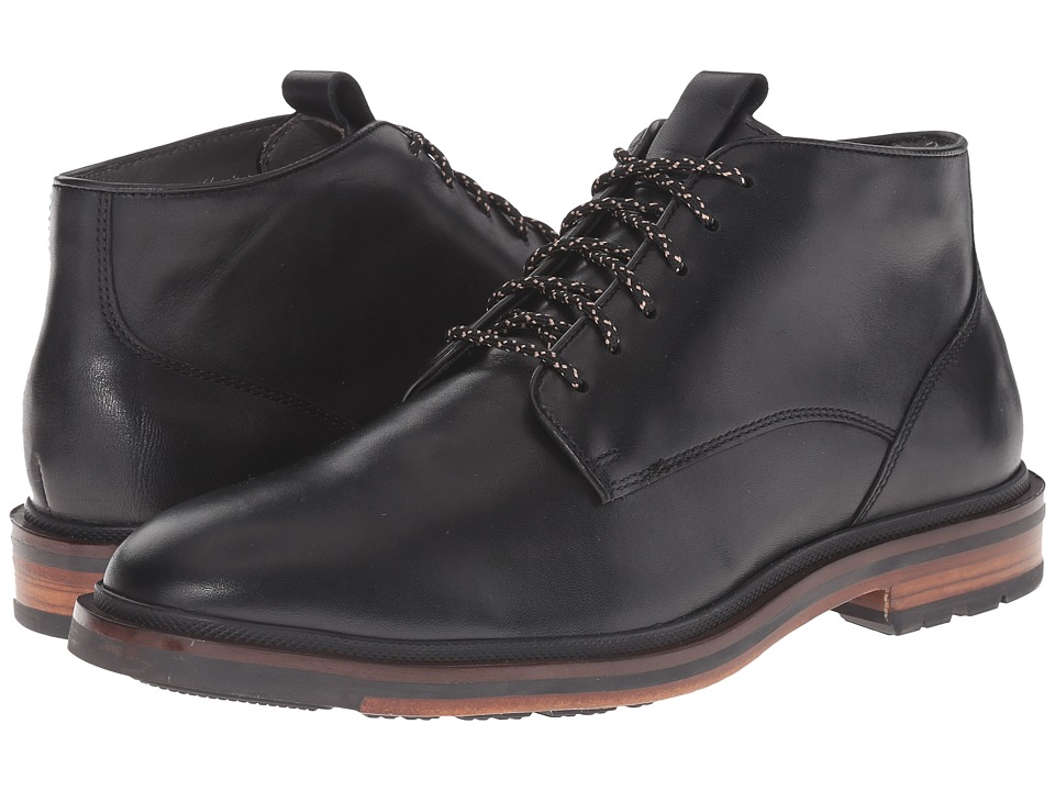 Cole Haan - Cranston Chukka (Black Waterproof) Men's Boots