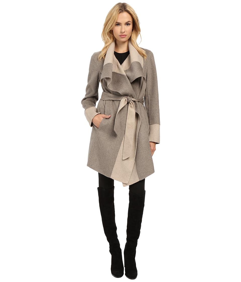 Diane von Furstenberg - Mackenzie (Taupe/Oatmeal) Women's Coat