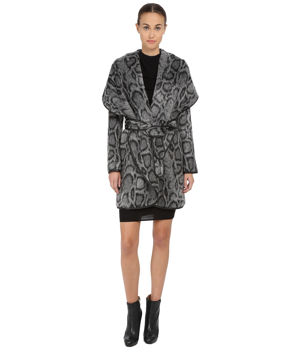 Diane von Furstenberg - Bergen (Grey) Women's Coat