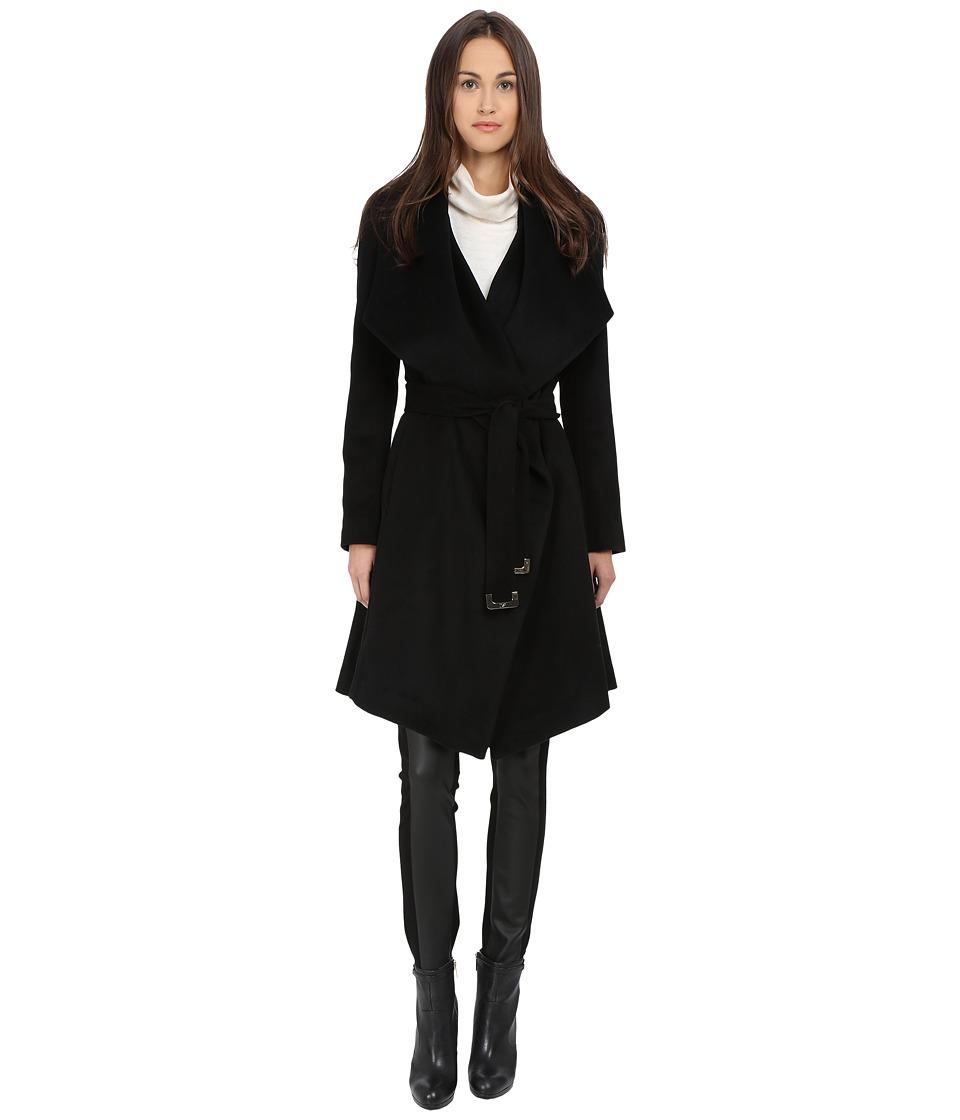 Diane von Furstenberg - Harlow (Black) Women's Coat