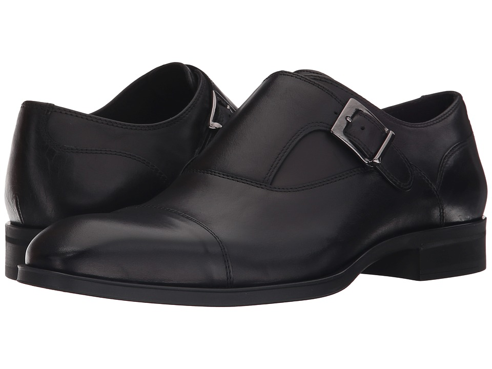Donald J Pliner - Sergio (Black) Men's Shoes