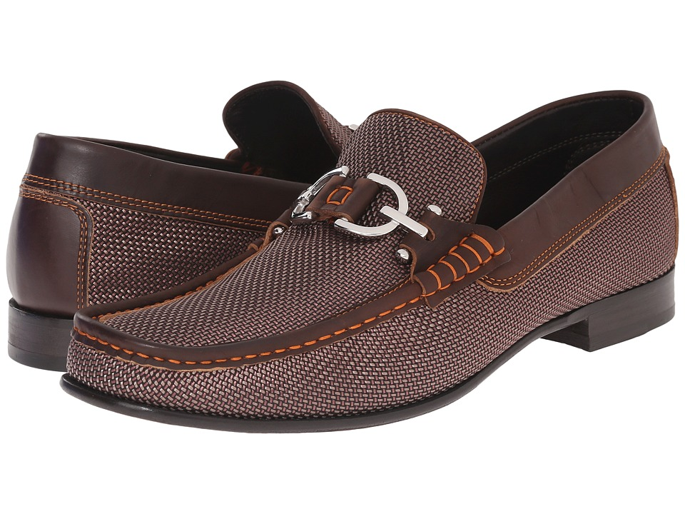 Donald J Pliner - Dacio (Brown) Men's Slip-on Dress Shoes