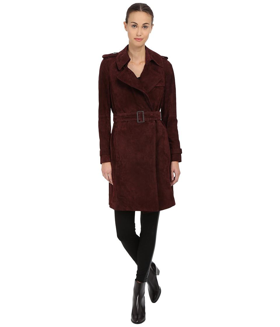 Diane von Furstenberg - Jean (Burgundy) Women's Coat