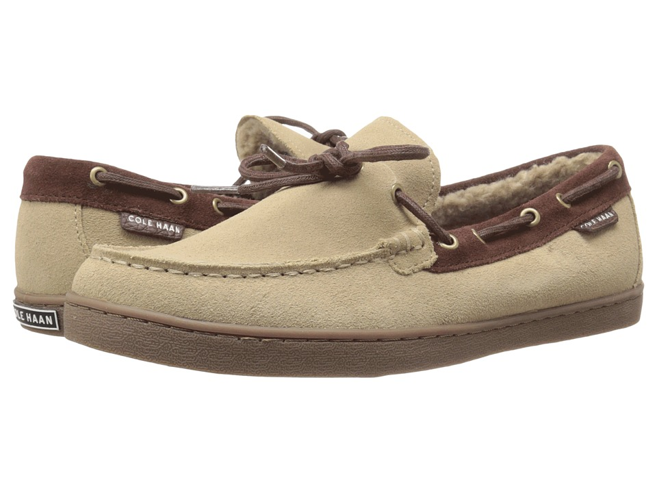 Cole Haan - Pinch Weekender Camp Moccasin (Milkshake Suede Shearling) Men's Shoes
