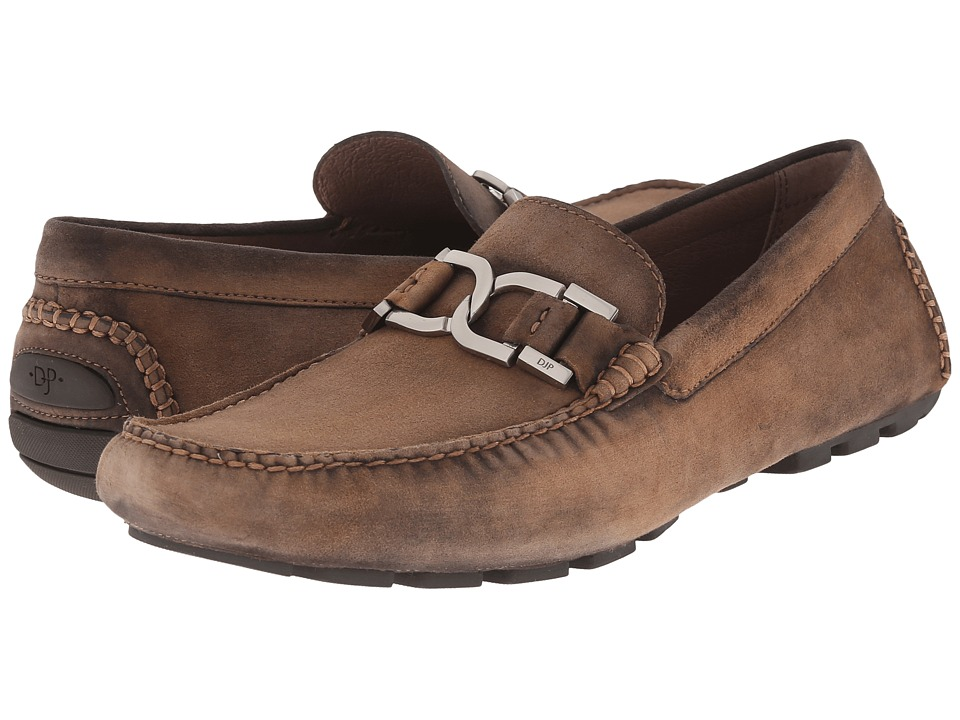 Donald J Pliner - Derrik (Brown) Men's Slip-on Dress Shoes