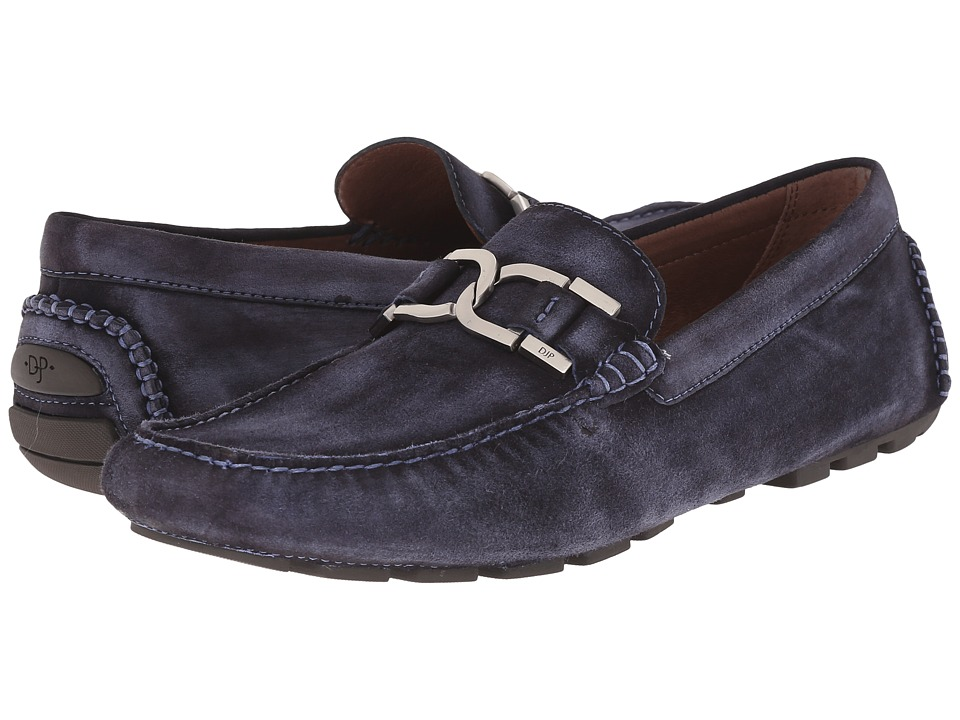Donald J Pliner - Derrik (Denim) Men's Slip-on Dress Shoes