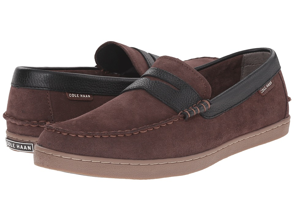 Cole Haan - Pinch Weekender (Chestnut Suede) Men's Slip on Shoes