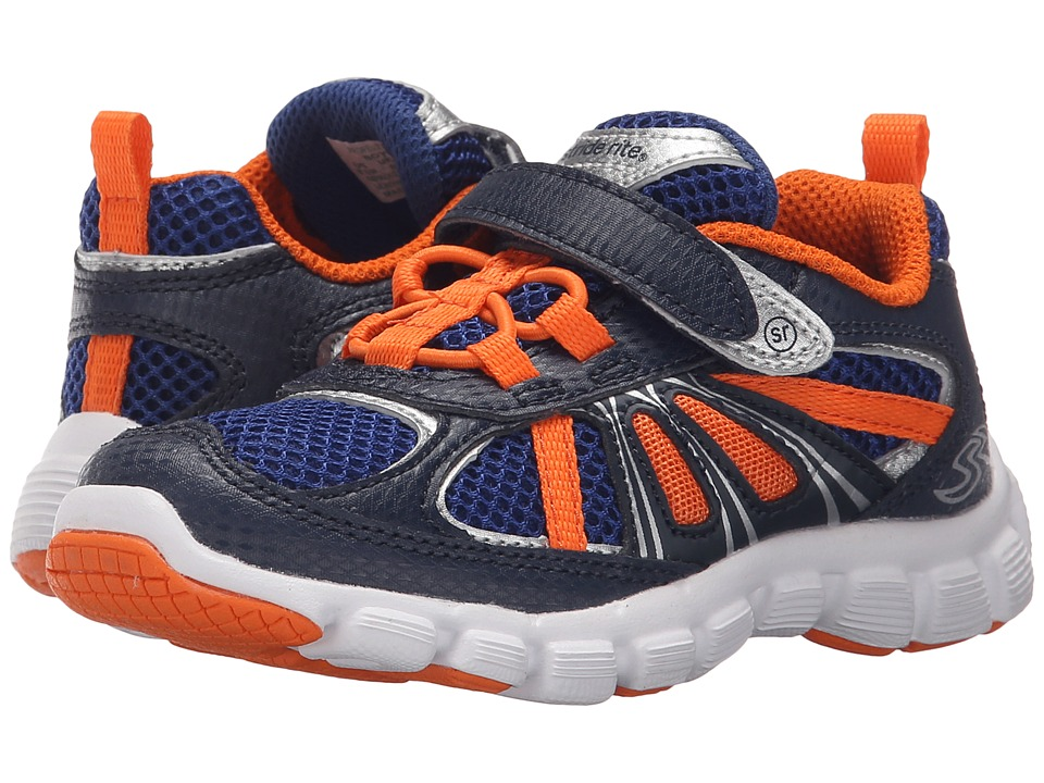 Stride Rite - Propel 2 A/C (Toddler/Little Kid) (Navy/Orange) Boy's Shoes